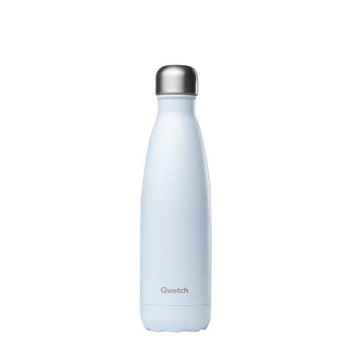 Insulated Stainless Steel Bottle - Pastel Blue - The Clean Market