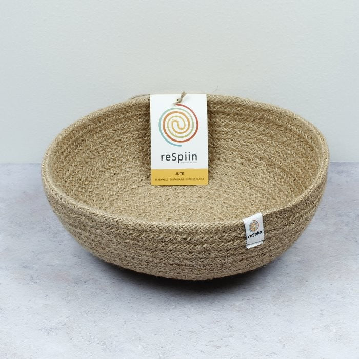 Natural Jute Bowl, Green Pioneer, The Clean Market
