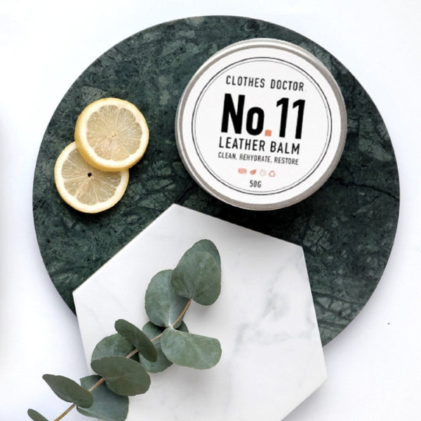 Sandalwood Leather Balm, Clothes Doctor, The Clean Market