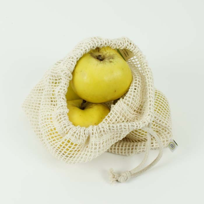 Organic Cotton Mesh Produce Bag, Produce Bags, Ecoliving, - The Clean Market