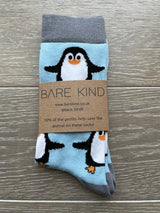 Bamboo Socks - Penguins, Bare Kind, The Clean Market