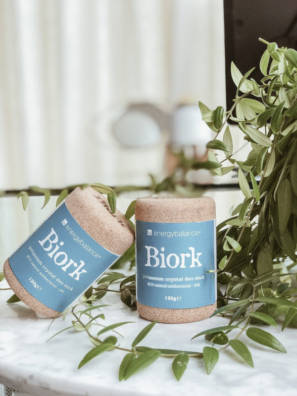 BIORK Natural Deodorant Stick, EnergyBalance, The Clean Market