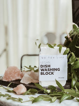 Vegan Dish Washing Block, Dish Wash, No Tox Life, - The Clean Market