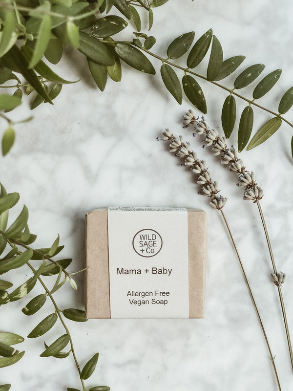 Handmade Natural Soap - Mama + Baby, Wild Sage + Co, The Clean Market