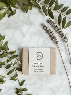 Handmade Natural Soap - Lavender & Geranium - The Clean Market