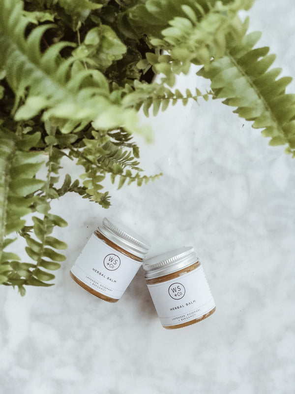 Herbal Balm - Lavender & Rosemary, Wild Sage + Co, The Clean Market