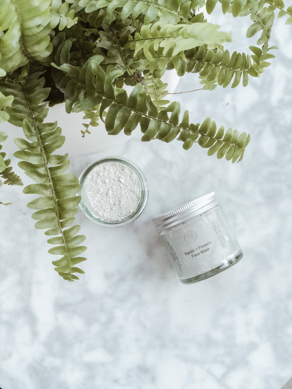 Face Mask - Kaolin + Flowers - The Clean Market