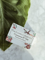 Handmade Natural Soap - Cinnamon & Oats - The Clean Market