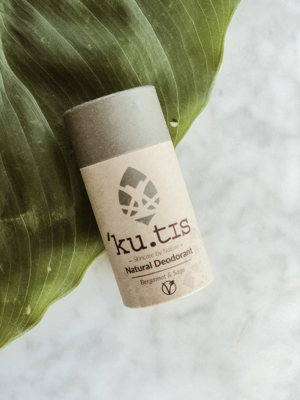 Natural Deodorant - Bergamot & Sage, Ku.tis, The Clean Market