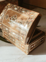 Handmade Wooden Mosaic Baby Box, box, The Clean Market, - The Clean Market