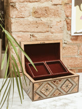 Handmade Wooden Mosaic Memory Box, The Clean Market, The Clean Market