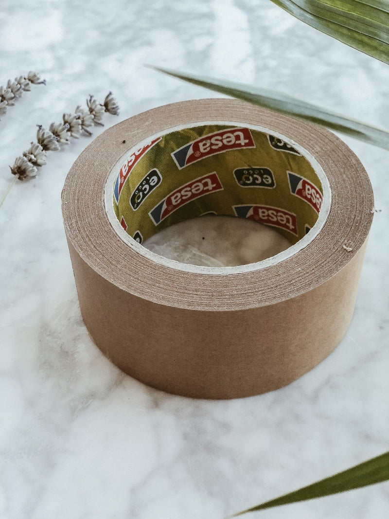 eco-friendly paper tape with 60% bio-based material by Tesa