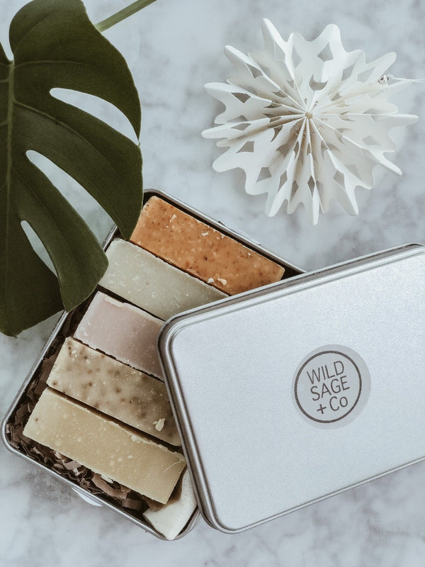 5 Natural Soap Gift Set - The Clean Market