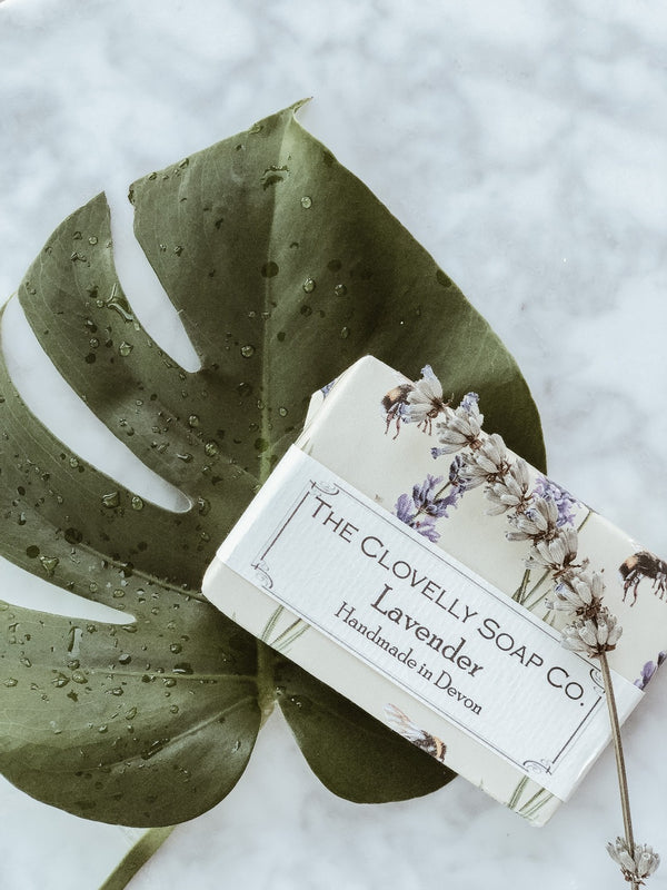 Handmade Natural Soap - Lavender, Soap, The Clovelly Soap Company, - The Clean Market