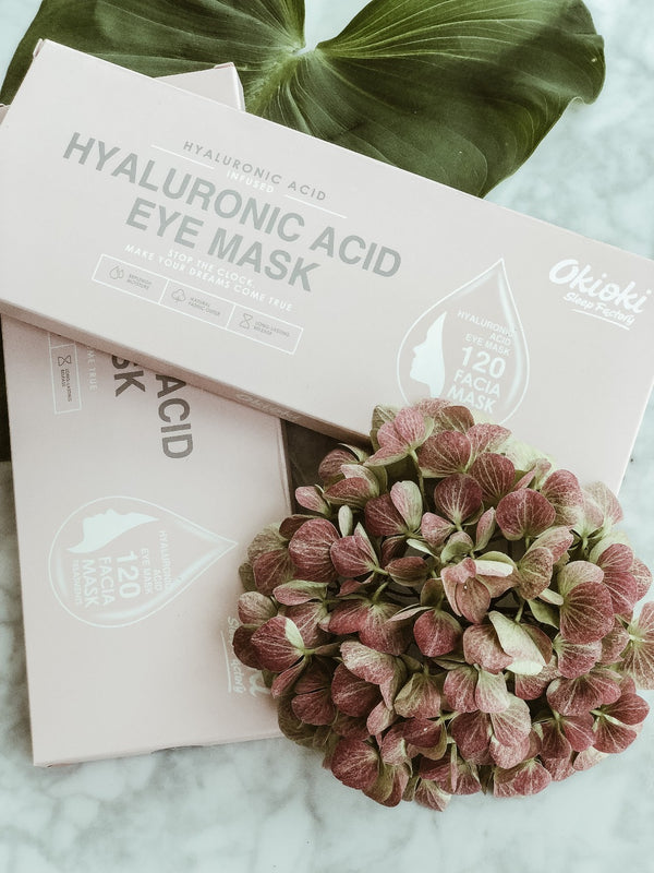 Okioki Eye Mask - Hyaluronic Acid, The Konjac Sponge Co, The Clean Market