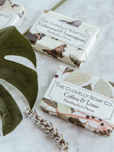 Handmade Natural Soap - Coffee & Lime, The Clovelly Soap Company, The Clean Market