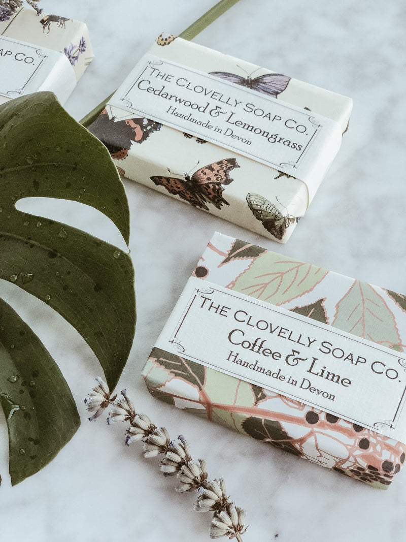 Handmade Natural Soap - Coffee & Lime - The Clean Market