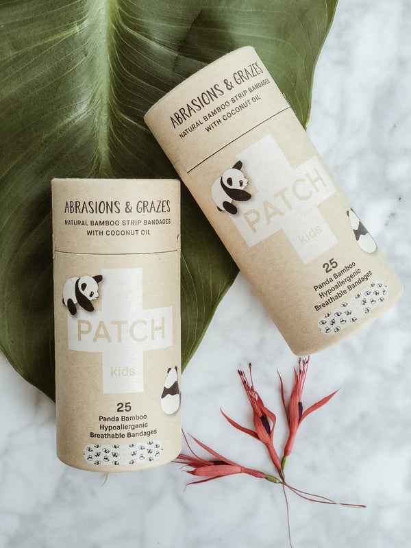 Patch Biodegradable Bamboo Plasters for Kids - Coconut Oil - The Clean Market
