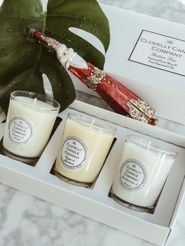 Candle Trio Gift Set - Festive