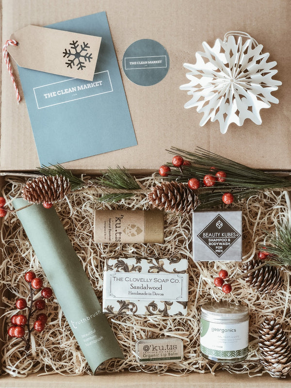 Sustainable Man Gift Set, The Clean Market, The Clean Market