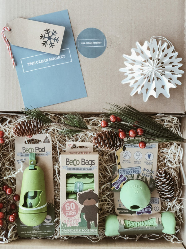 Eco Pet Gift Set, Pack, The Clean Market, - The Clean Market