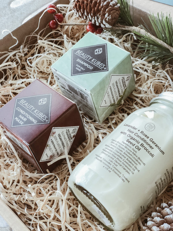 Hair Care Gift Set - Oily Hair, The Clean Market, The Clean Market