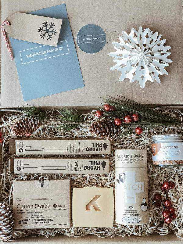 Sustainable Kids Gift Set, Pack, The Clean Market, - The Clean Market