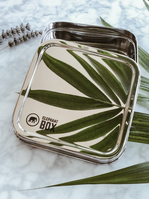 Square Salad Box - Elephant Box, Elephant Box, The Clean Market