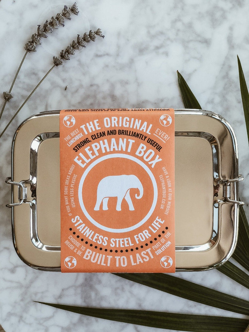 Sustainable stainless steel lunchbox by The Elephant Box