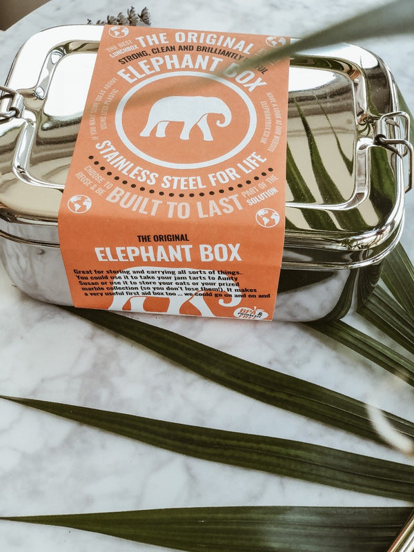 Elephant Box - Stainless Steel Lunchbox, Elephant Box, The Clean Market