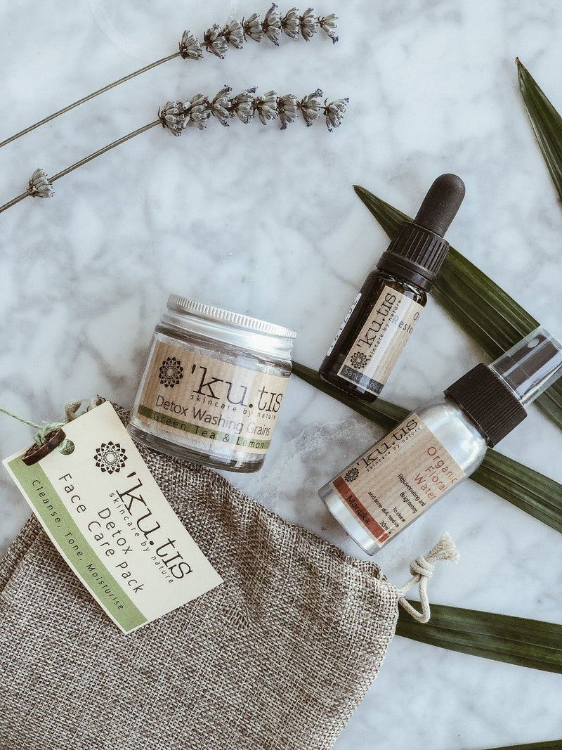 Daily Face Care Pack - Detox, Face Care, Ku.tis, - The Clean Market