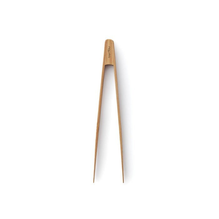 Organic Bamboo Tongs - Small, Green Pioneer, The Clean Market