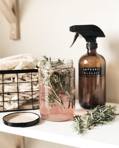 Homemade natural kitchen cleaner