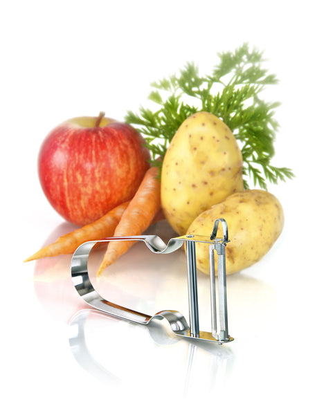 "STAR: ""Heavy Metal""  vegetable peeler + FREE garlic peeler - The Cook Shop Online"