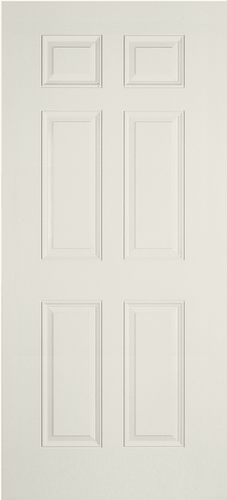 6 panel fiberglass door MPC Cashway Lumber