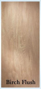Jeld-Wen Birch Flush Prehung Door