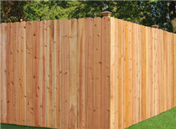 Fencing: Preassembled Dog-eared Treated