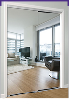 Load image into Gallery viewer, Daiek Door Systems Mirrored Door