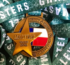 3-D Masters Grade Level Gold Medal