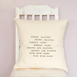 'Frere Jacques' Cushion
