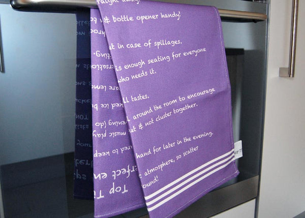 'Top Tips' Tea Towel