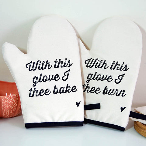 With This Glove... Oven Mitt Set