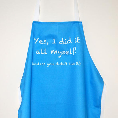 'Did It All Myself' Apron
