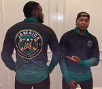 Jamaican Bobsled Team 1/4 Zip Performance Pullover Cool Runnings