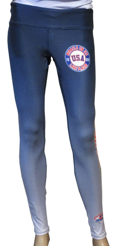 USA Hockey Adult Miracle on Ice 1980 USA Hockey Team Authentic Ladies Performance Leggings
