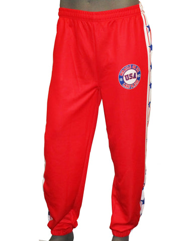 USA Hockey Adult Miracle on Ice 1980 Uniform Authentic Track Pants