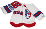 USA Hockey MIracle on ice 1980 Authentic Cushion Crew Sock