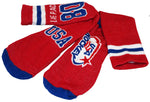 USA Hockey Miracle on Ice 1980 Hockey Team Cushion Crew Sock