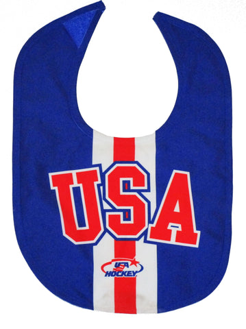 USA Hockey Miracle on Ice 1980 USA Hockey Team Bib Royal