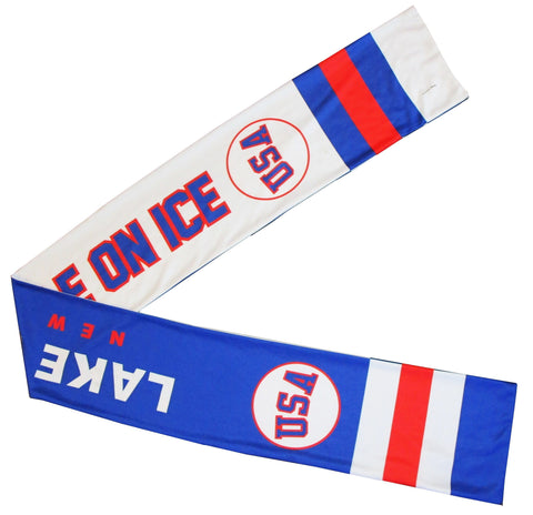 USA Hockey Miracle on Ice 1980 USA Hockey Team Perfomance Scarf